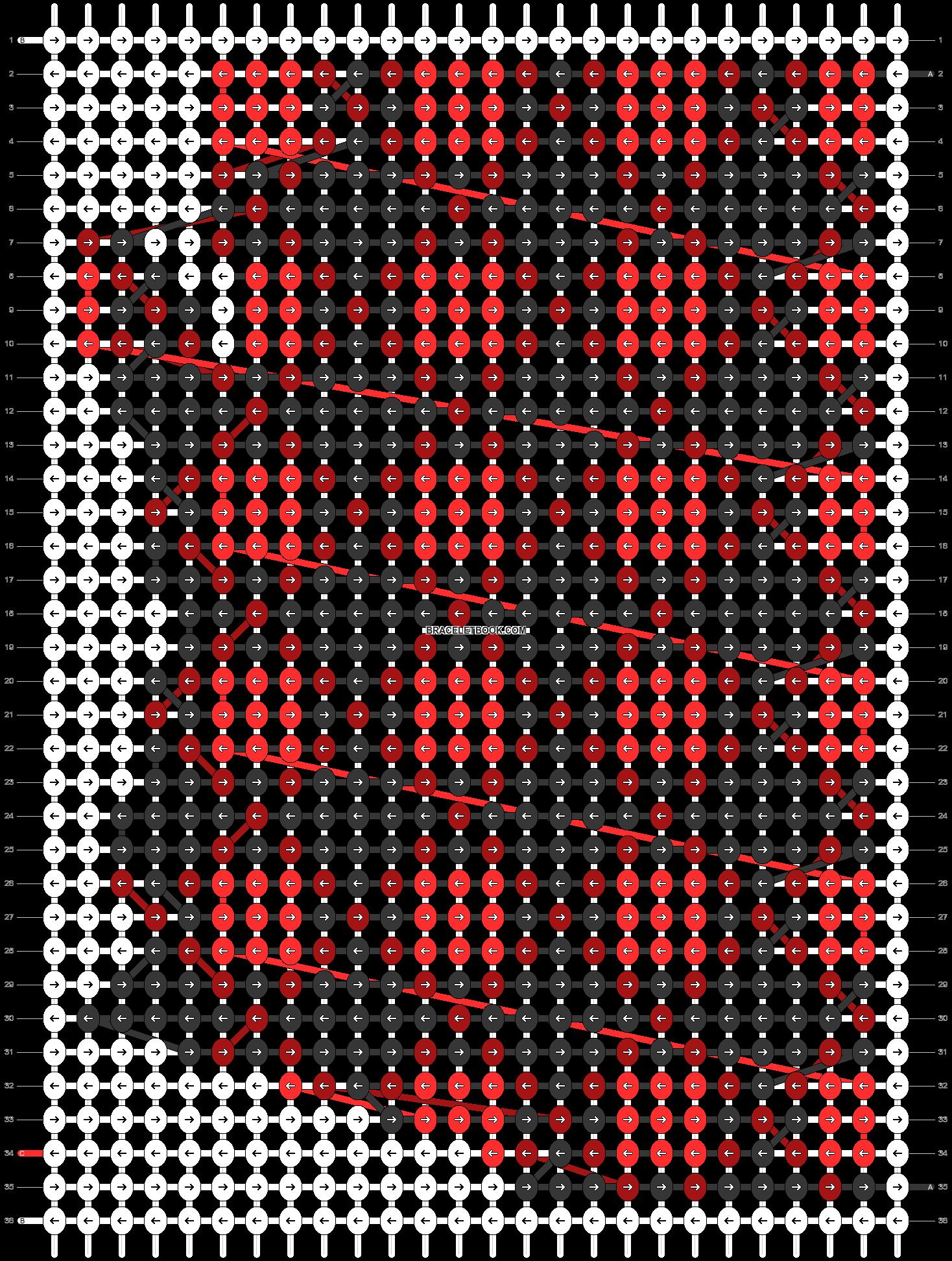 Alpha pattern #63907 pattern
