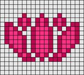 Alpha pattern #63966