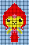 Alpha pattern #64000