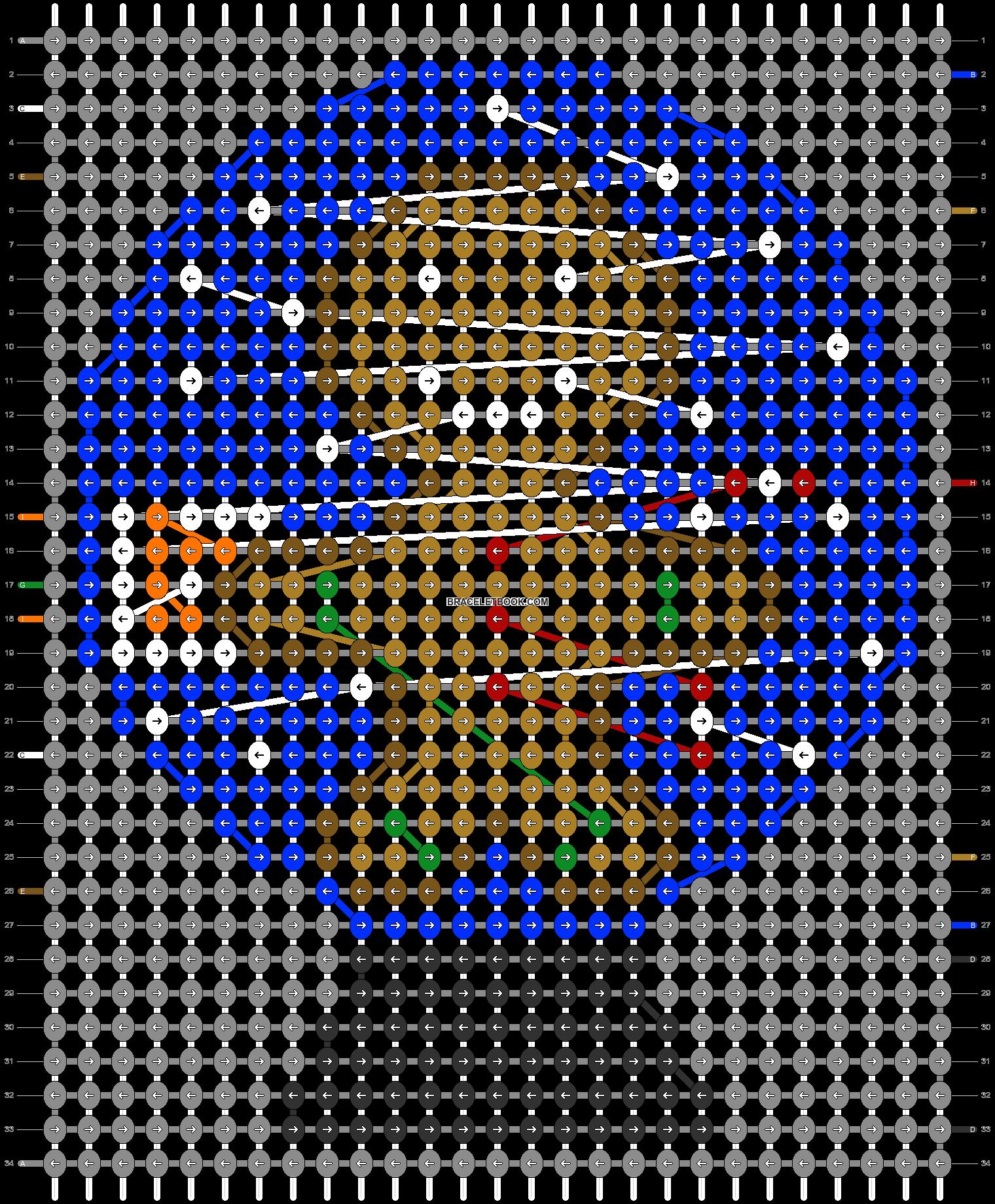 Alpha pattern #64003 pattern
