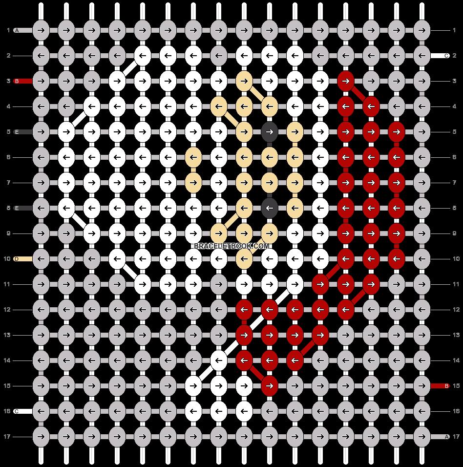 Alpha pattern #64004 pattern