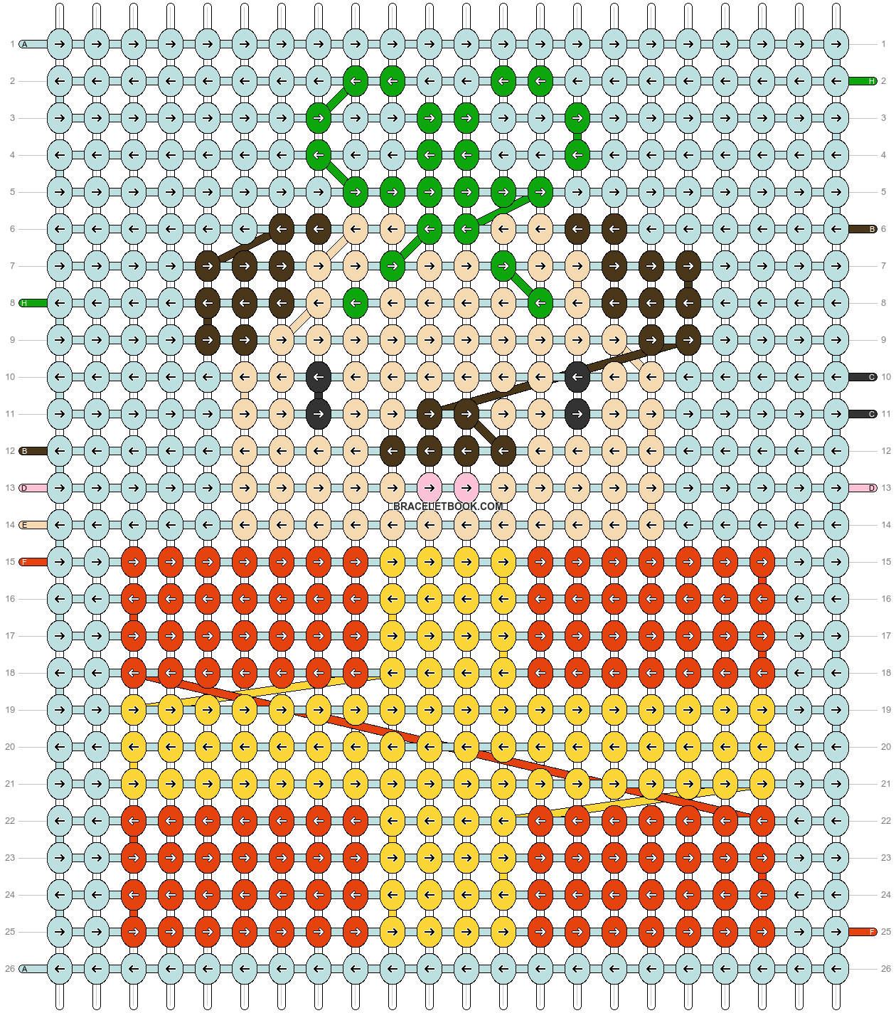 Alpha pattern #64006 pattern