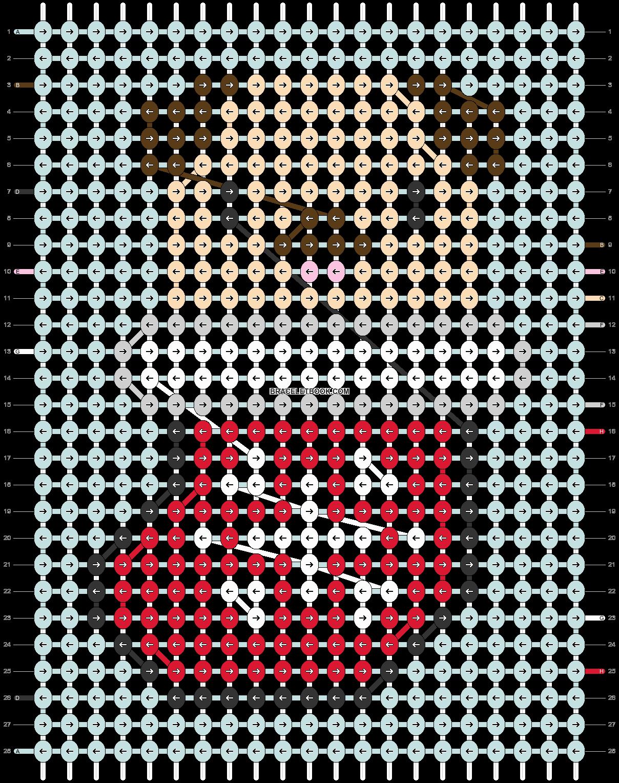 Alpha pattern #64010 pattern