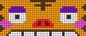 Alpha pattern #64011