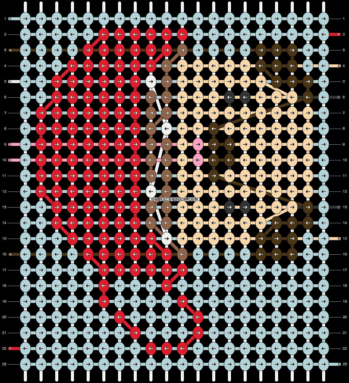 Alpha pattern #64013 pattern