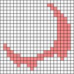 Alpha pattern #64023