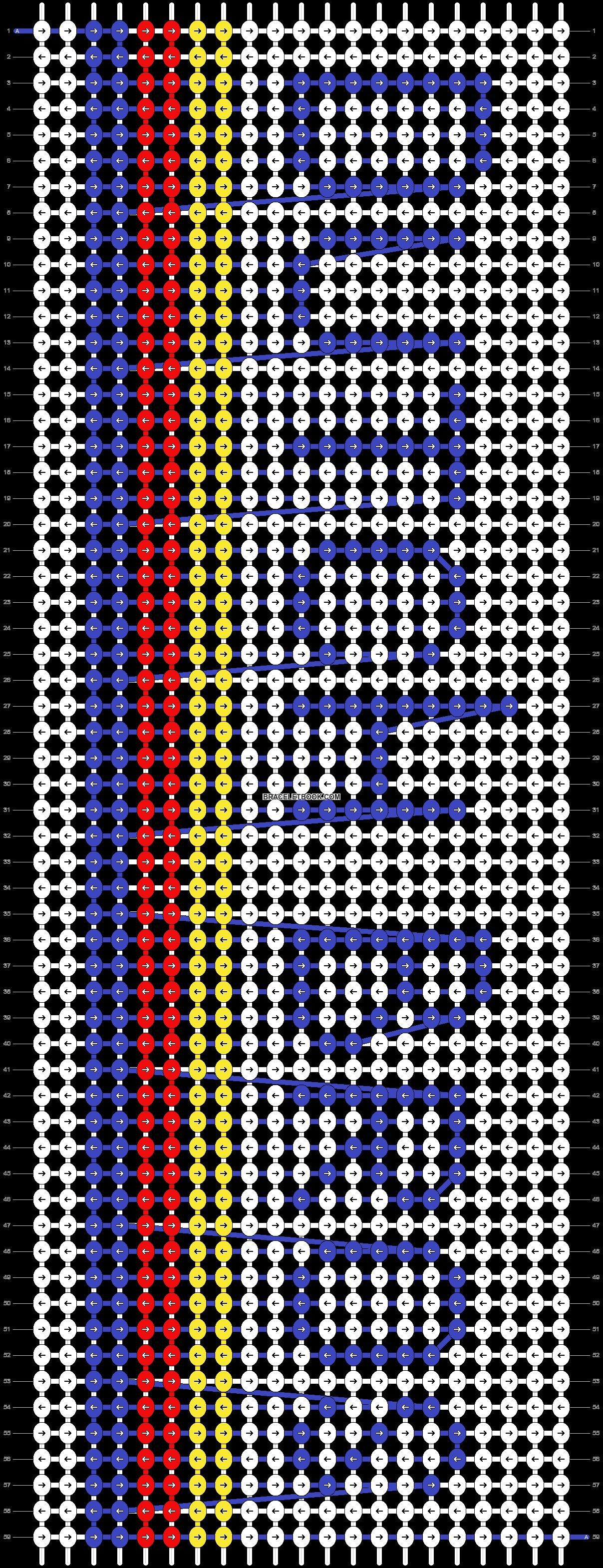 Alpha pattern #64044 pattern
