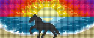 Alpha pattern #64045