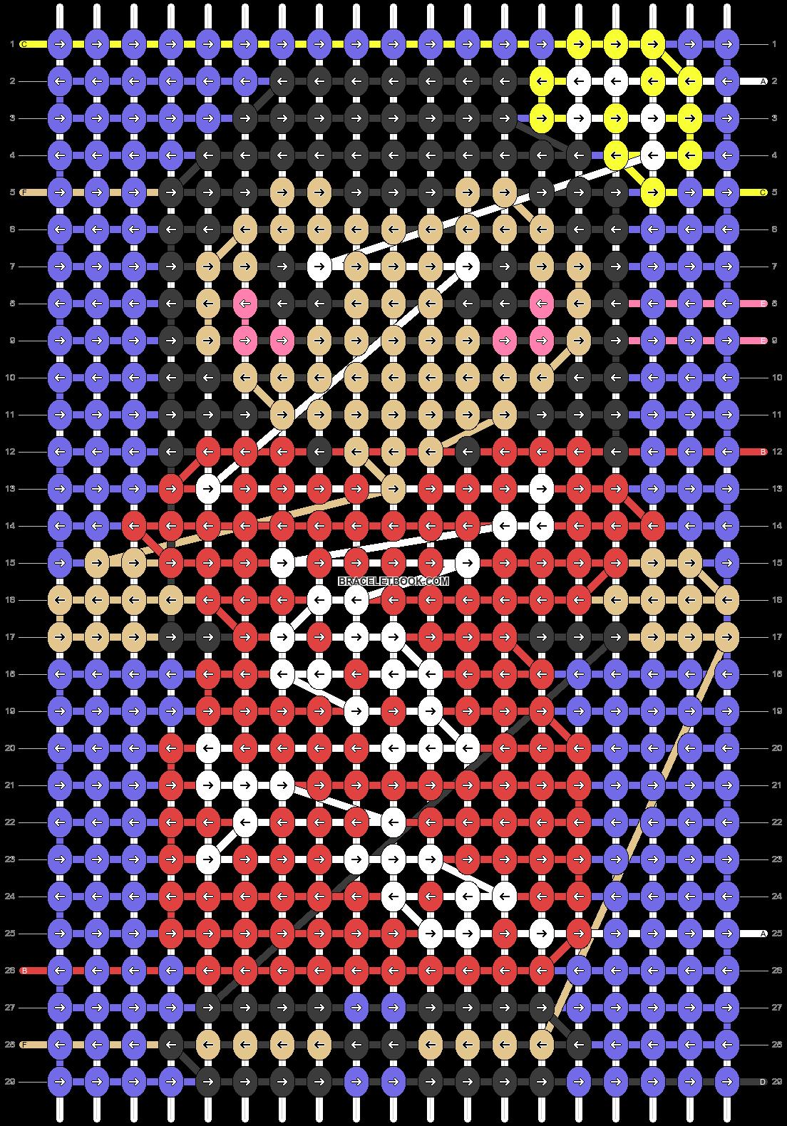 Alpha pattern #64054 pattern