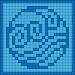 Alpha pattern #64055