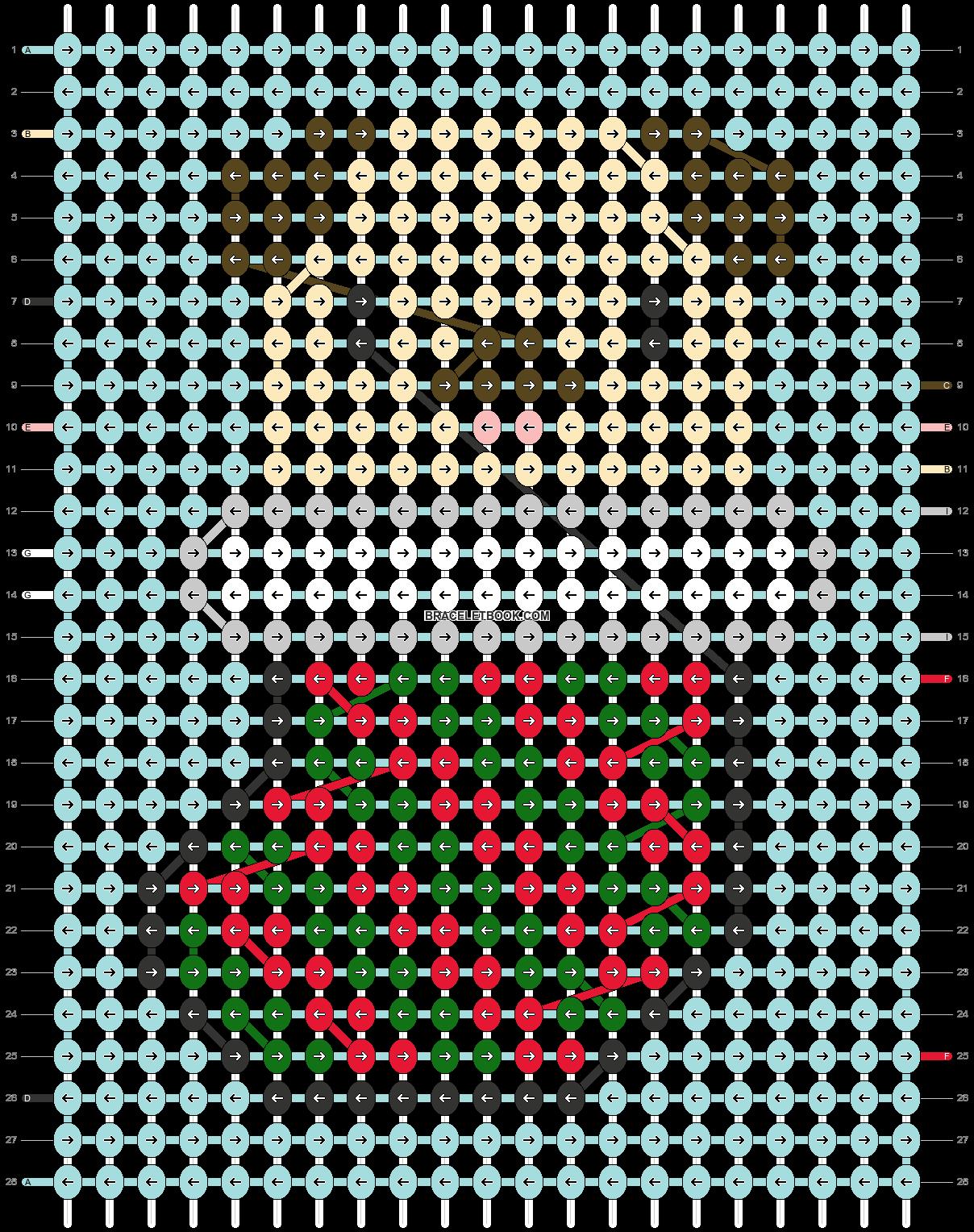 Alpha pattern #64081 pattern