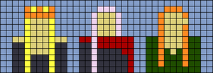Alpha pattern #64084
