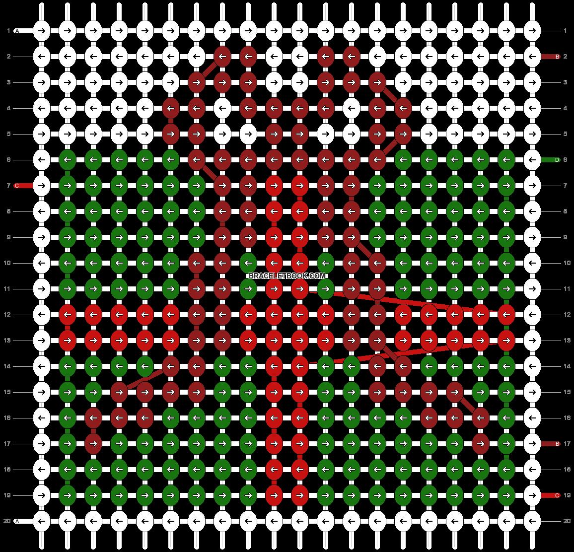 Alpha pattern #64085 pattern