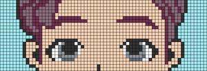 Alpha pattern #64087