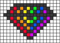 Alpha pattern #64094