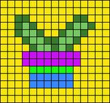 Alpha pattern #64103