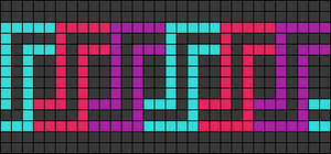 Alpha pattern #64108