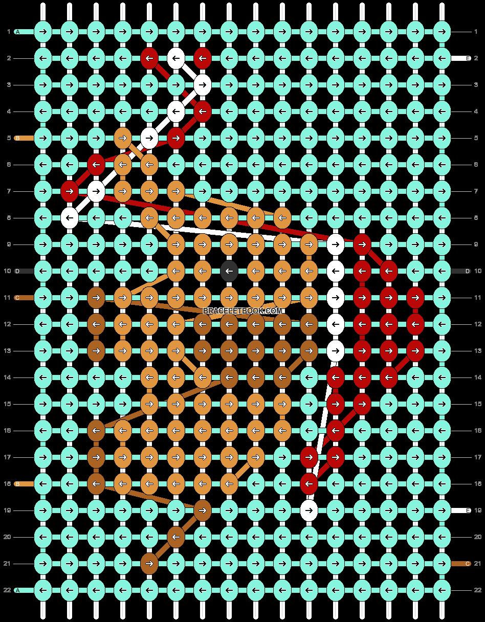 Alpha pattern #64127 pattern