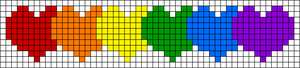 Alpha pattern #64129