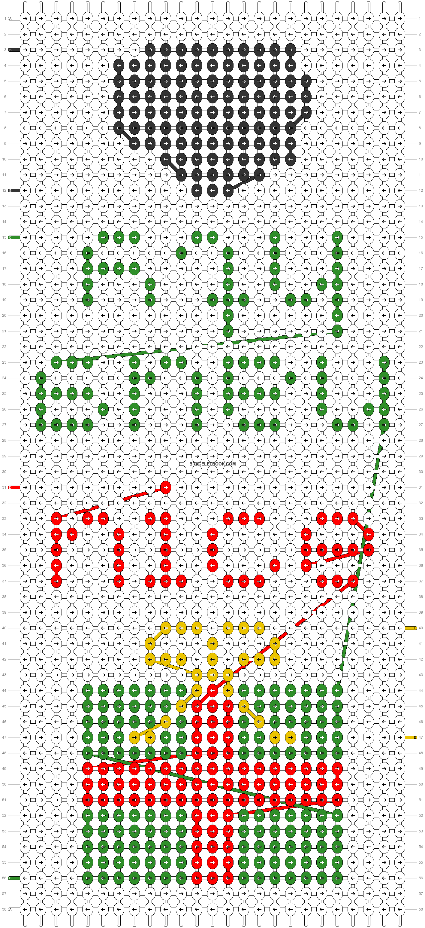 Alpha pattern #64145 pattern