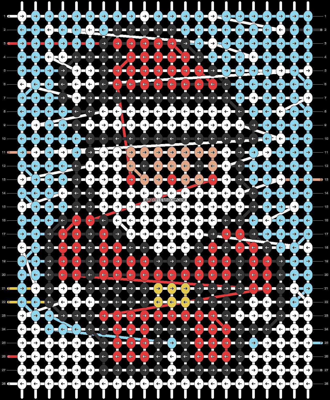 Alpha pattern #64172 pattern