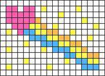 Alpha pattern #64182
