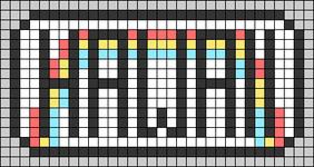 Alpha pattern #64190
