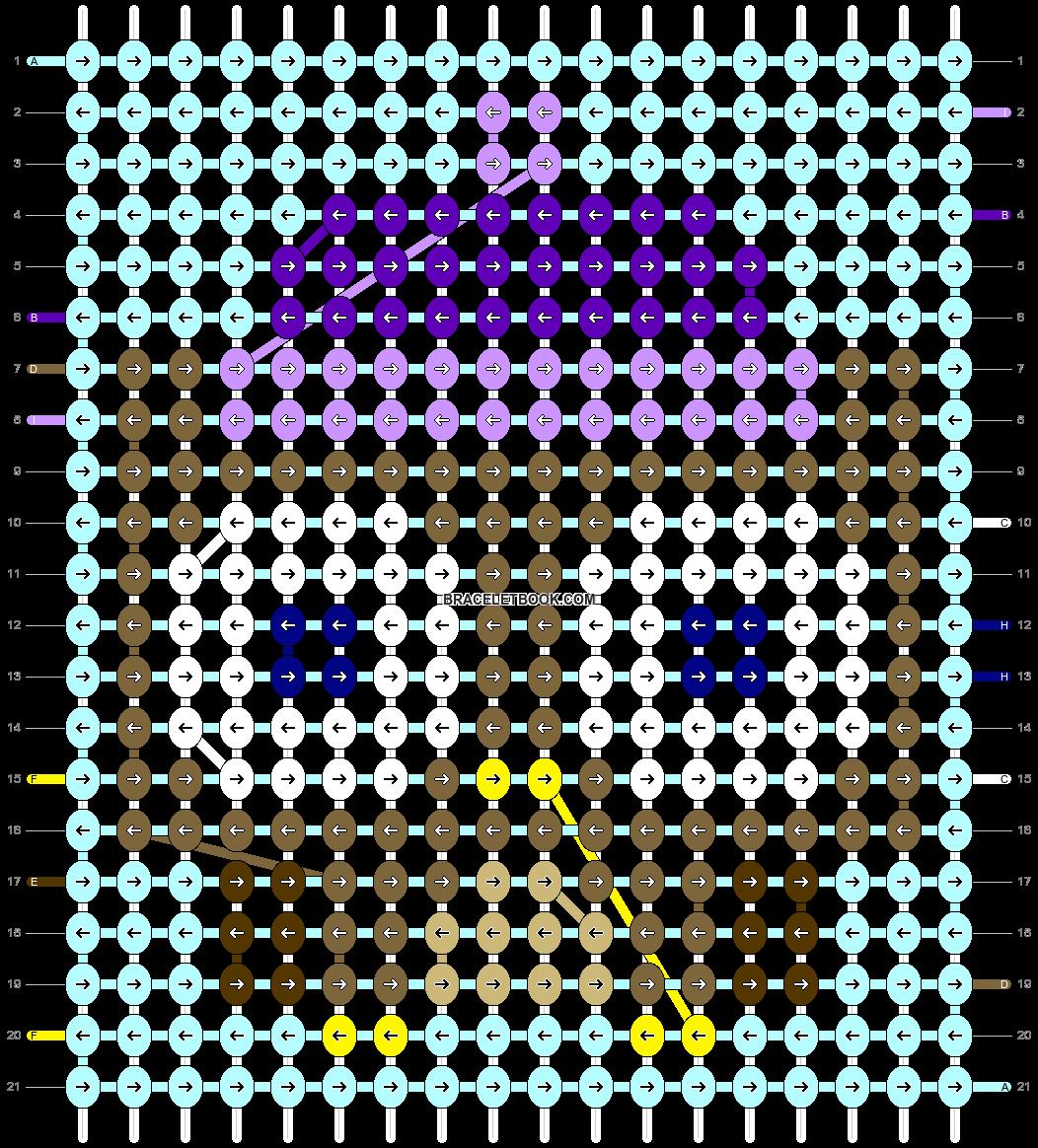 Alpha pattern #64230 pattern