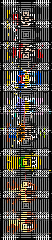 Alpha pattern #64233 pattern