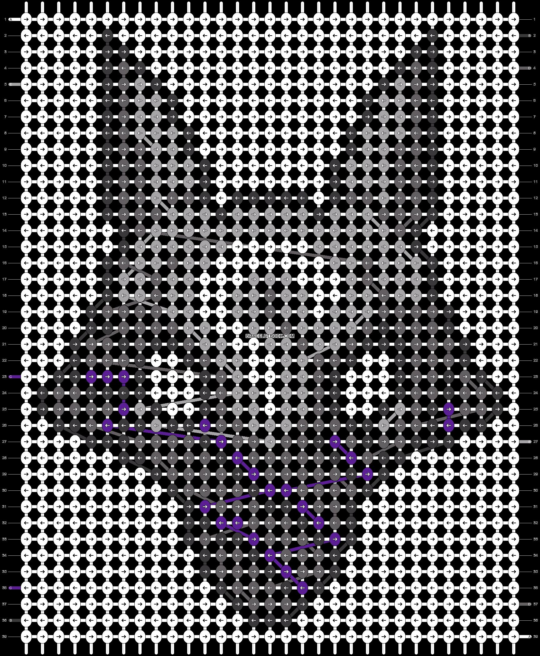 Alpha pattern #64235 pattern