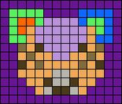 Alpha pattern #64246