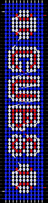 Alpha pattern #64247 pattern