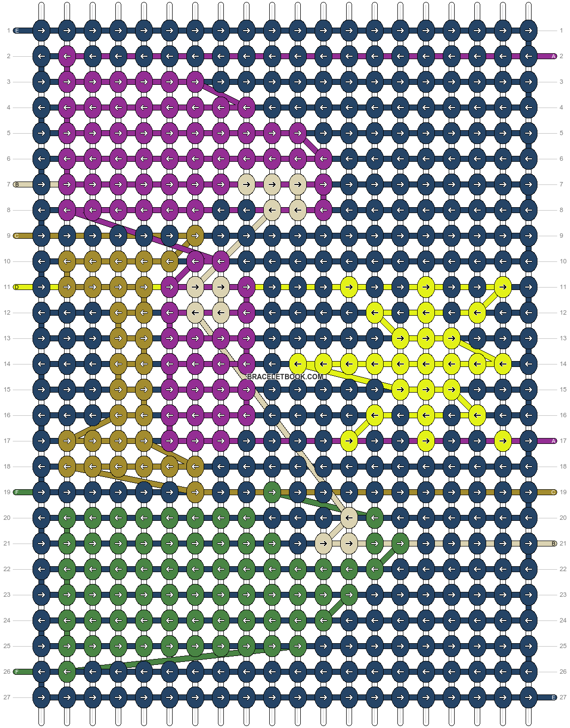 Alpha pattern #64257 pattern