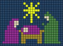 Alpha pattern #64257