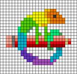 Alpha pattern #64263