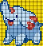 Alpha pattern #64287
