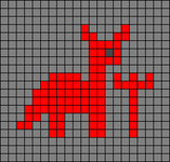 Alpha pattern #64289