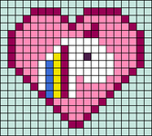 Alpha pattern #64293