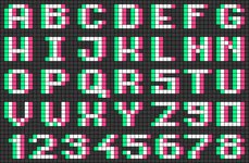 Alpha pattern #64295