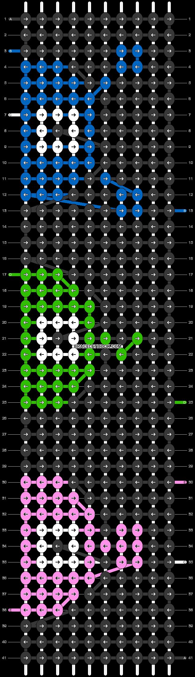 Alpha pattern #64314 pattern