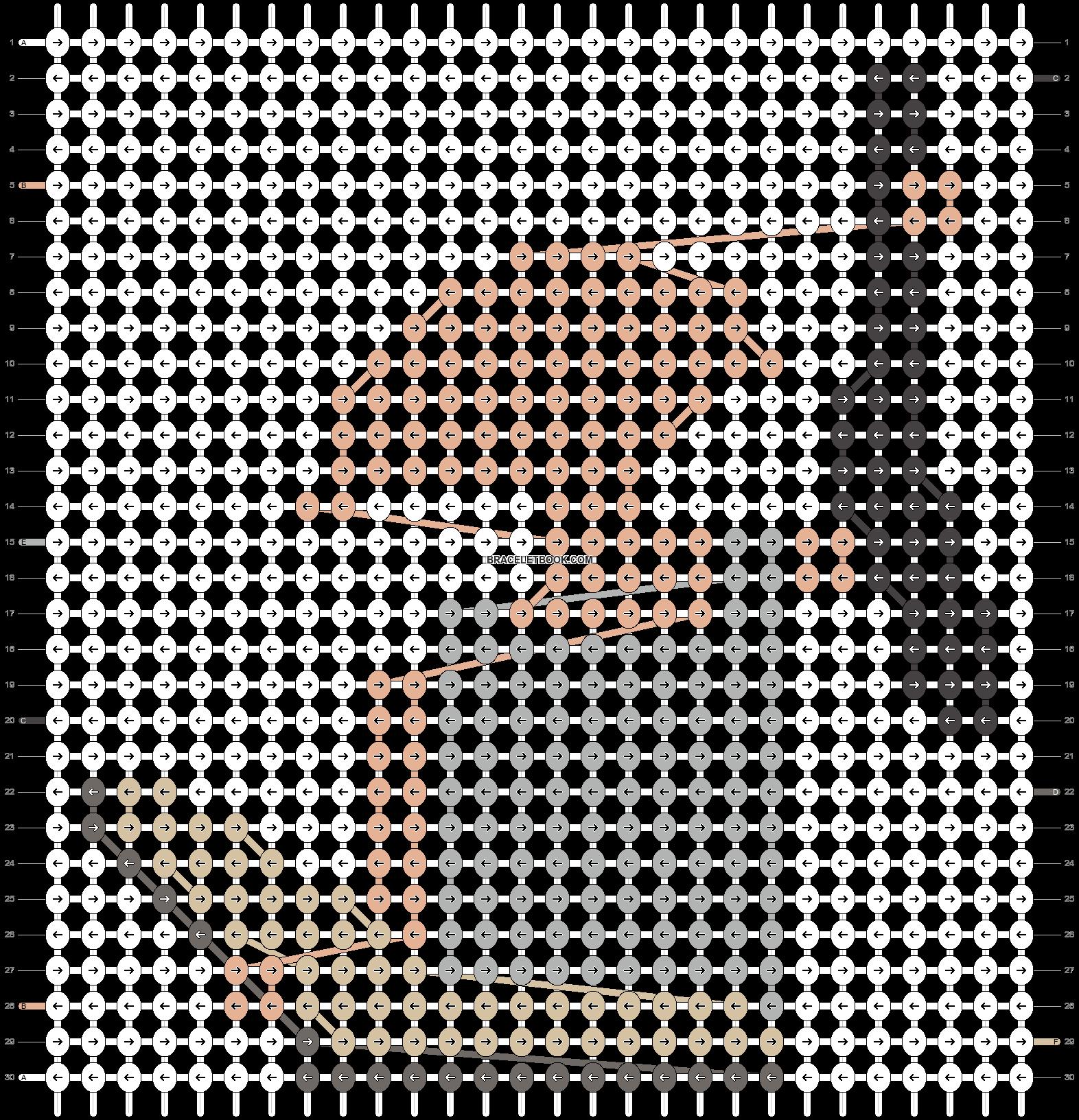 Alpha pattern #64324 pattern
