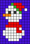 Alpha pattern #64325