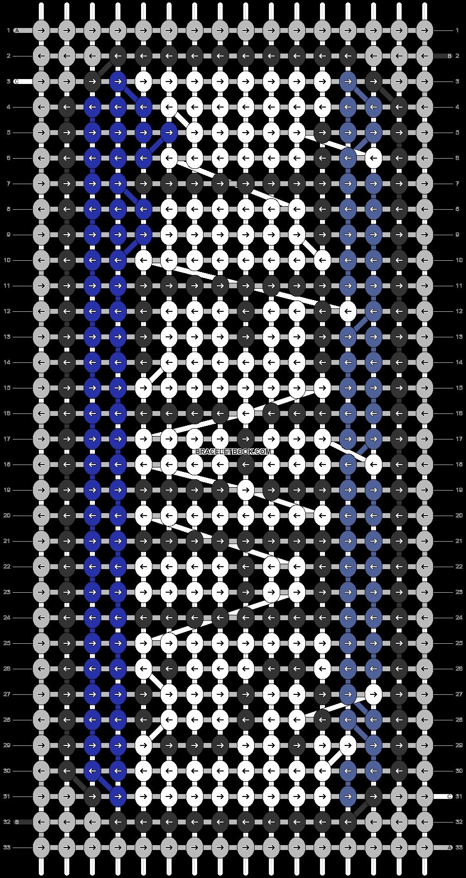 Alpha pattern #64328 pattern