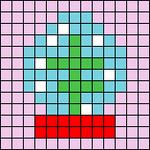 Alpha pattern #64380