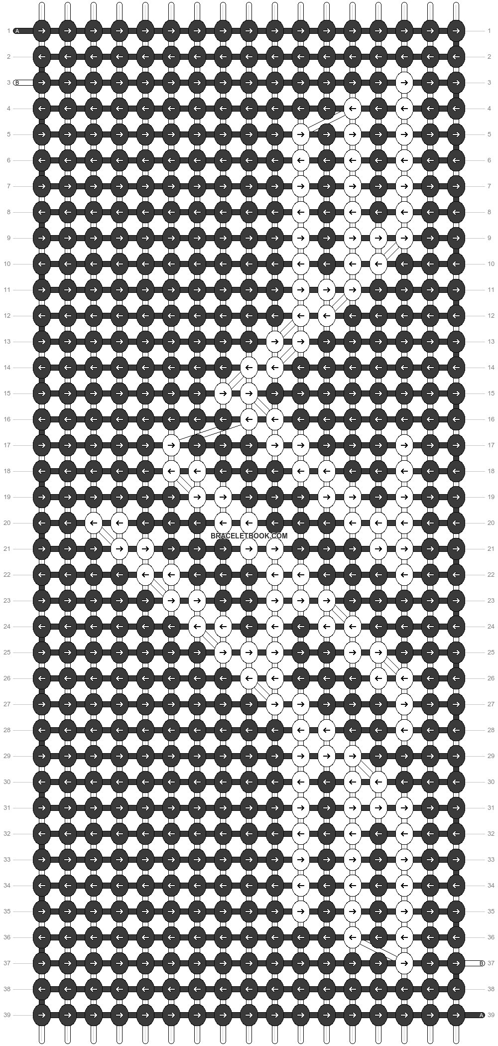 Alpha pattern #64414 pattern