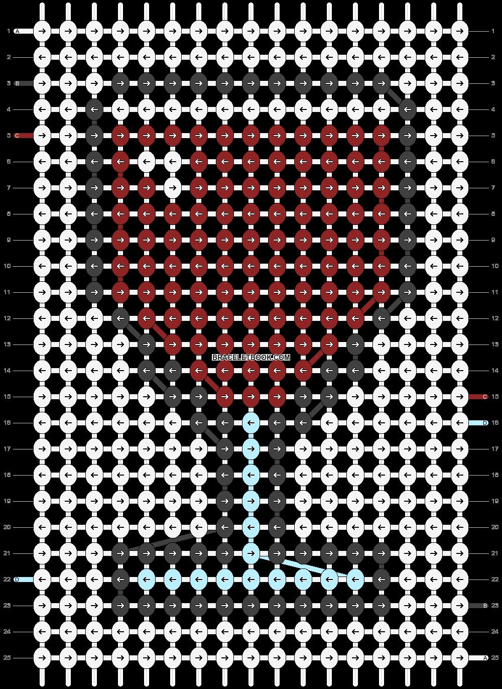 Alpha pattern #64419 pattern
