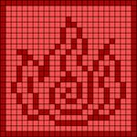 Alpha pattern #64423