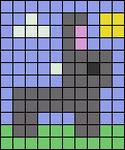 Alpha pattern #64446