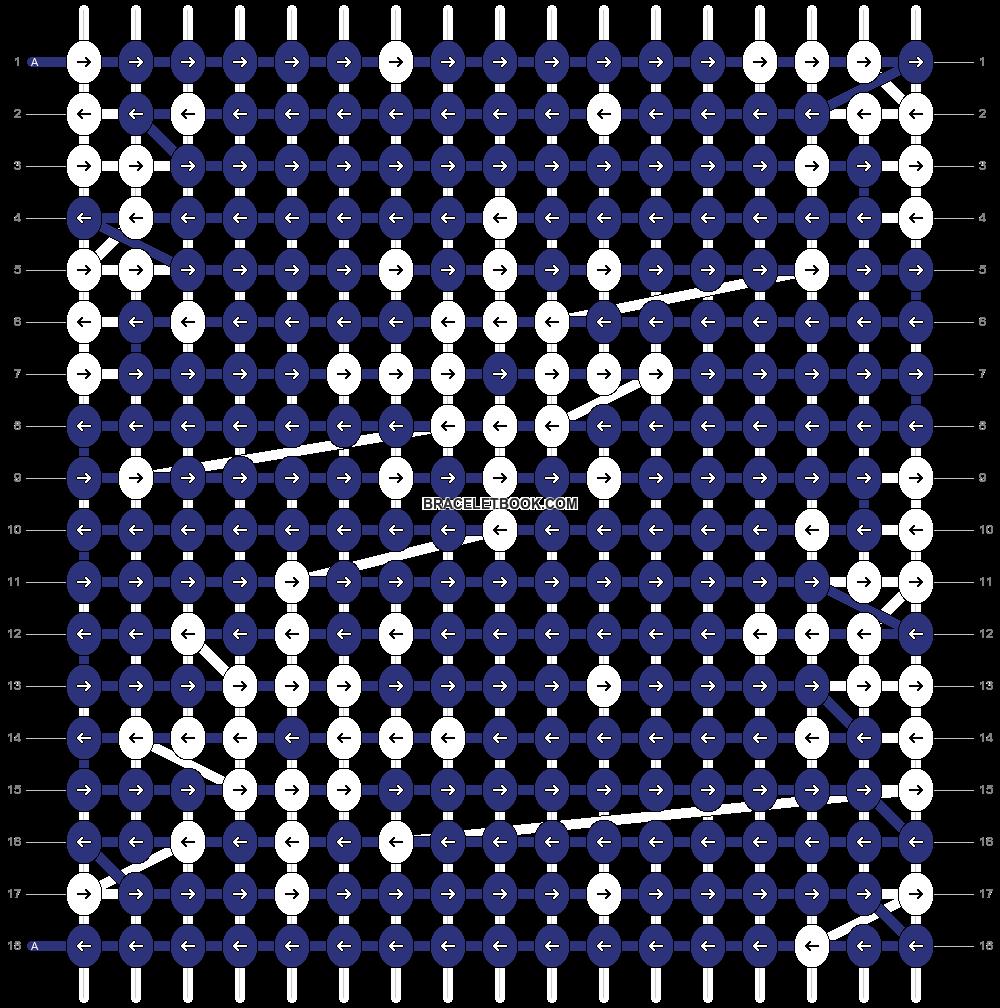Alpha pattern #64451 pattern