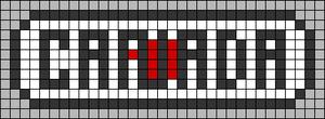 Alpha pattern #64453